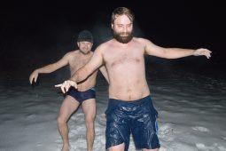 Saunovanie - rusnacký moonwalk v mraze