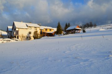 Ubytovanie Naďa pohľad v zime