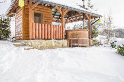 Sauna pohľad zdola