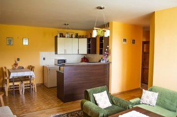 Apartmán spoločneská miestnosť kuchynňa