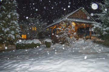 Sauna nočná atmosféra