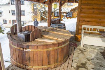 Sauna kúpacia kaďa