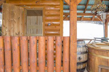 Sauna pohľad spredu